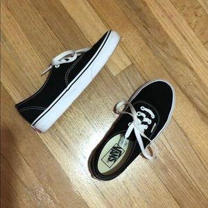 Vans Authentic Black Vans
